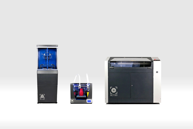 Impresoras 3d y cortadora l ser de bcn3d technologies for Impresora 3d laser