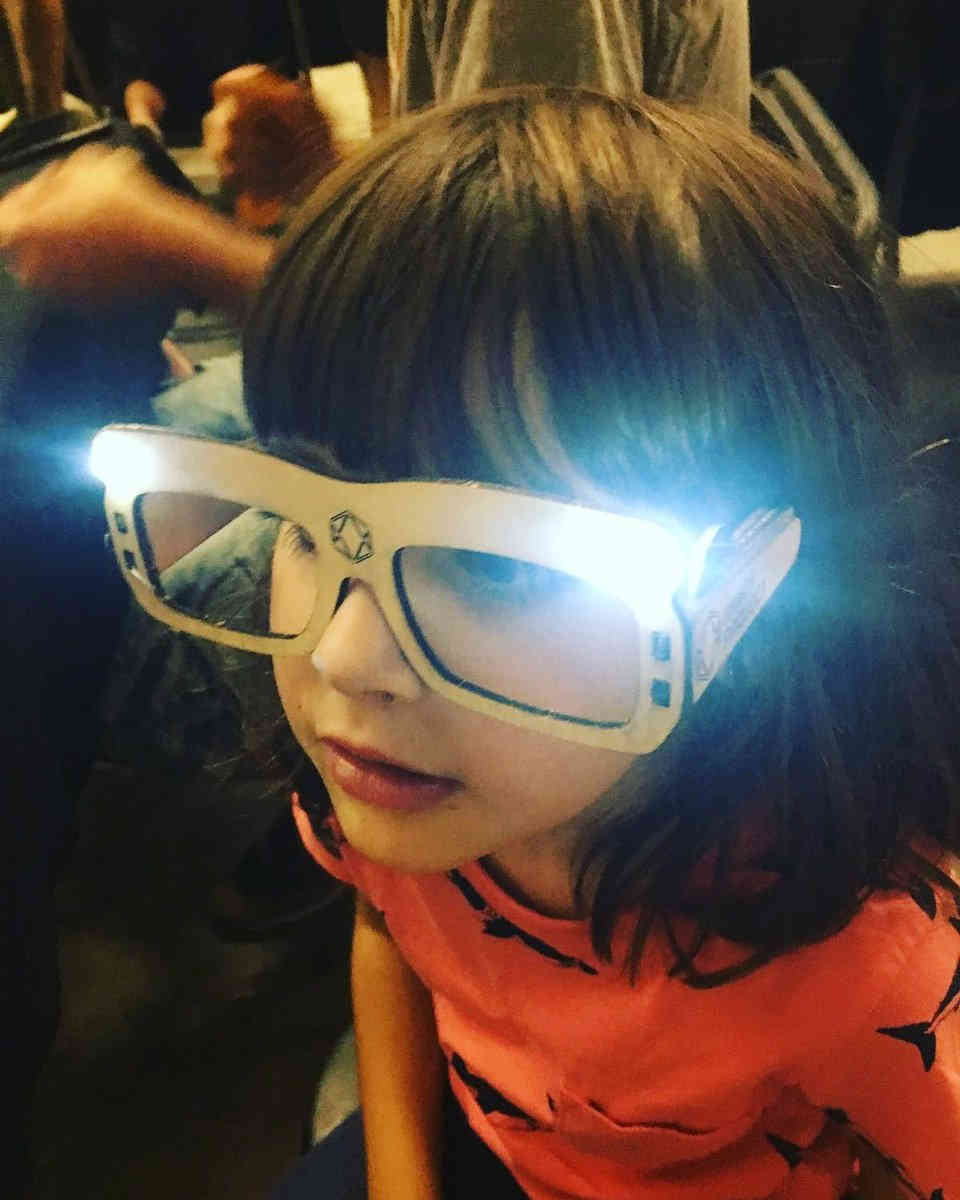 Gafas LED Maker Faire