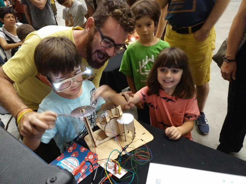 Bateria MakeyMakey Maker Faire