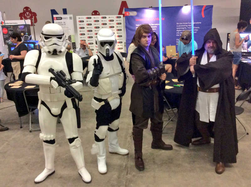Star Wars Maker Faire Barcelona