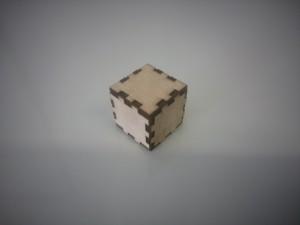 Cubo madera corte Inkscape