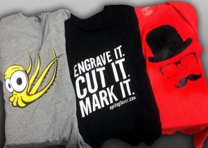 Apliques para estampación de camisetas