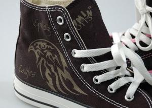 Grabado de zapatillas con láser