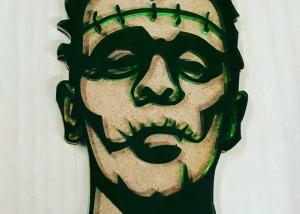 Ornamento para Halloween de Frankenstein