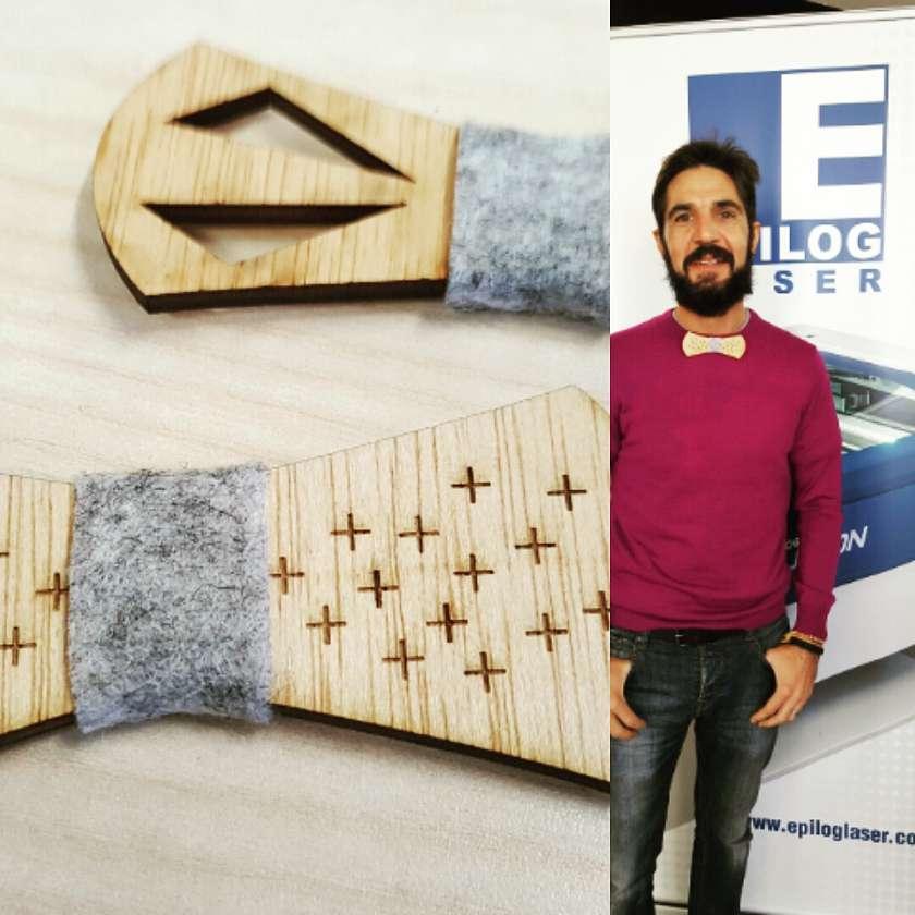 Pajaritas de madera con láser