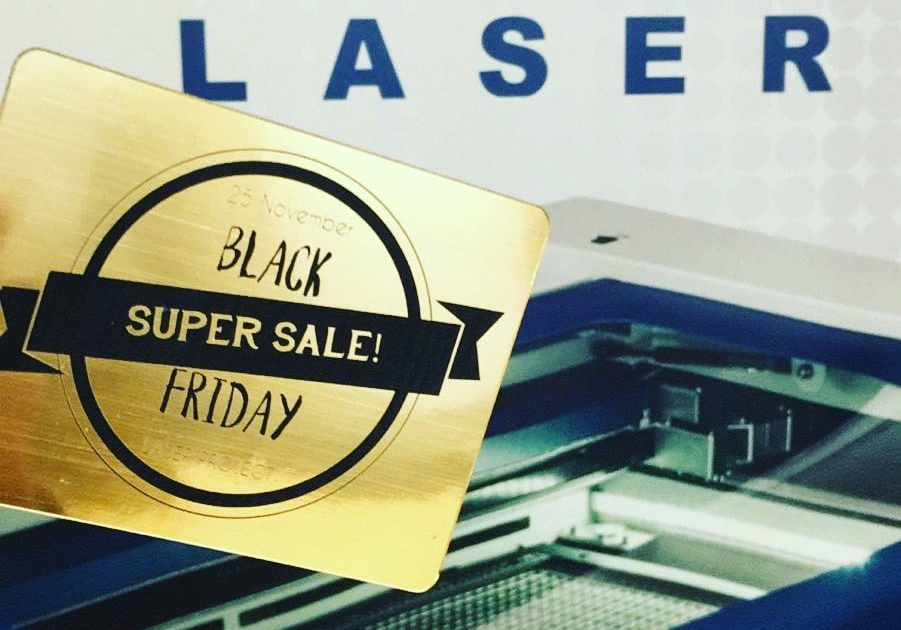 Materiales láser y 3D - Black Friday