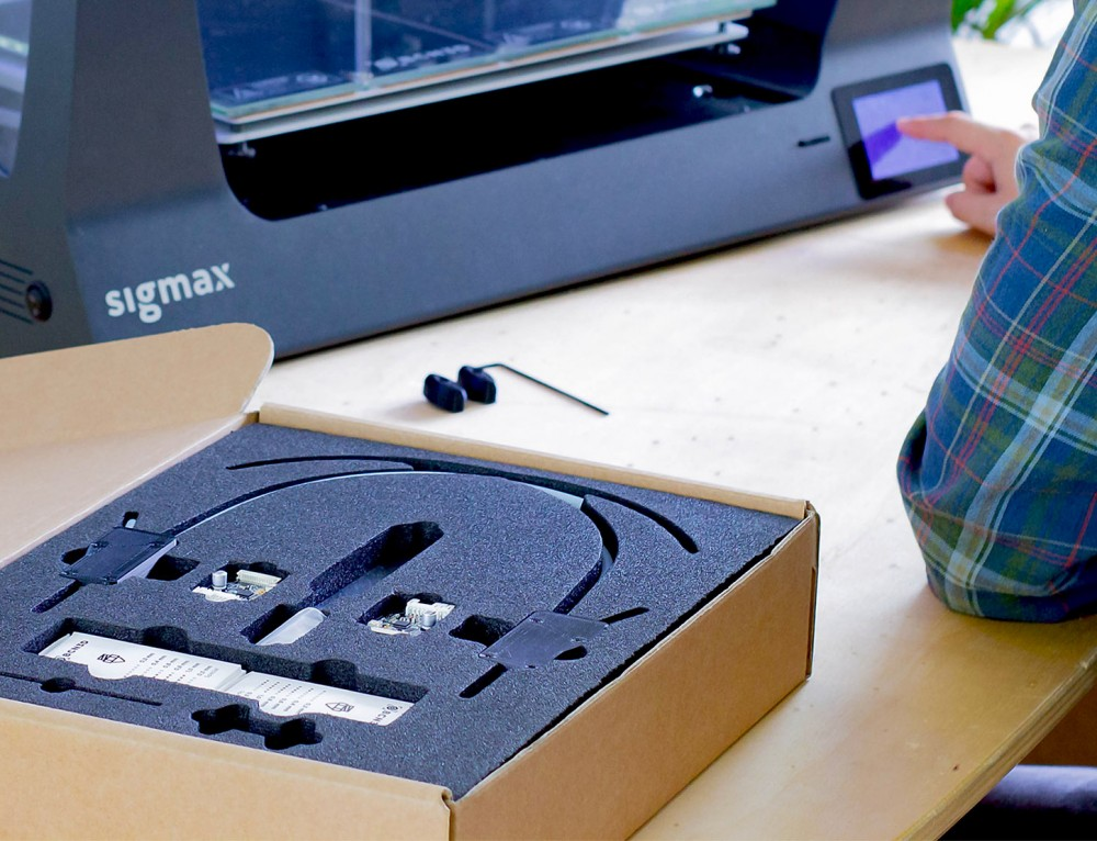 Nuevo kit de upgrade a Sigma R19