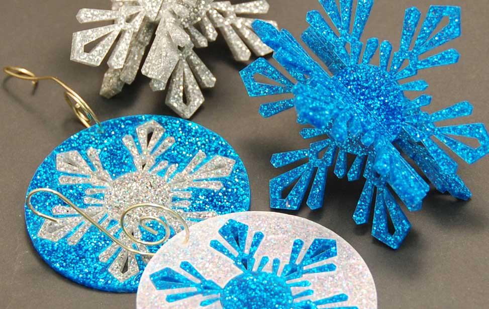 Ornamentos Navidad con láser