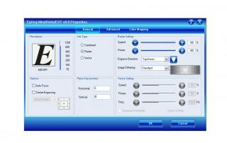 driver de impresiónDashboard™ de Epilog Laser