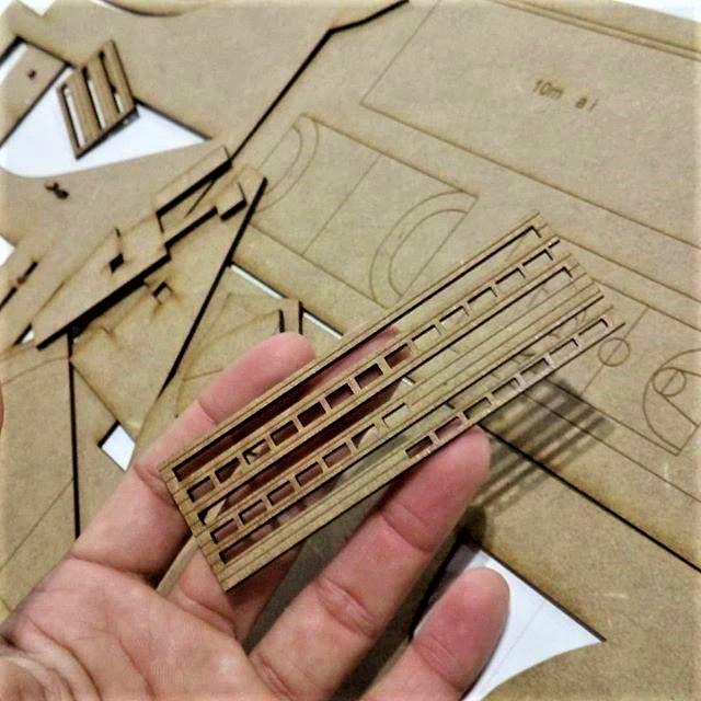 Corte láser madera de Grabaser